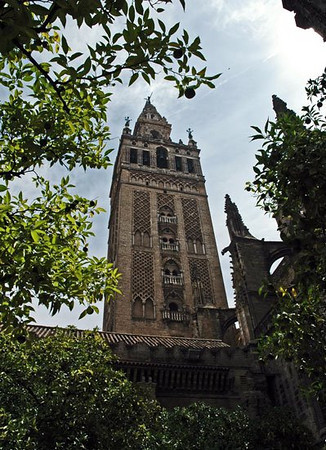 The Cathedral of Seville, also known as Catedral de Santa María de la Sede (Cathedral of Saint Mary of the See) is the Cathedral of the city of Seville in Andalusia. It is the largest Gothic cathedral and the fourth largest Christian church in the world.