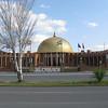 Palacio de Congresos. The site of the IBM conference.