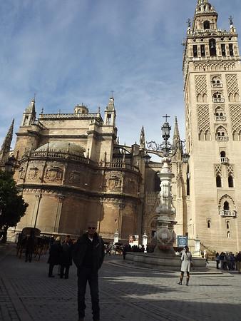 Seville, Spain - February, 2014