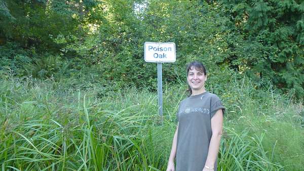 Yes....there were these signs all over the place.  Stay on the trails!