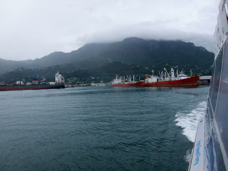 Ferry ride from Mahé to Praslin