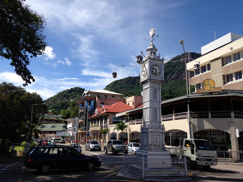 Clock tower in Victoria