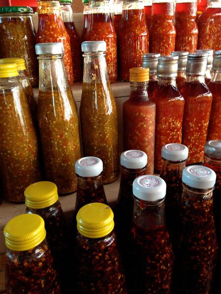 Seychelles has super yummy HOT sauce
