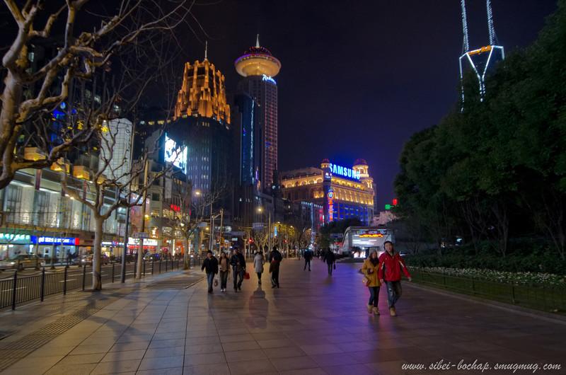 along nanjing west