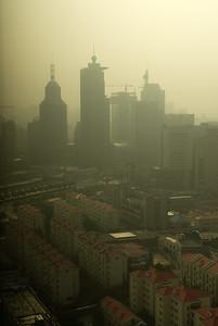 Sunrise (alleged) in Shanghai in August.