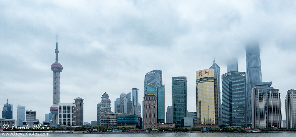 Shanghai China skyline