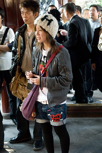 Japanese tourists are polite, but sometimes Japanese fashion isn't