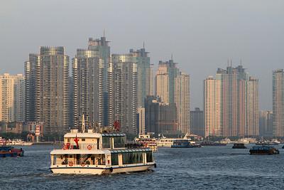 Huangu River, Shanghai.