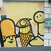 A graffiti crew's studio