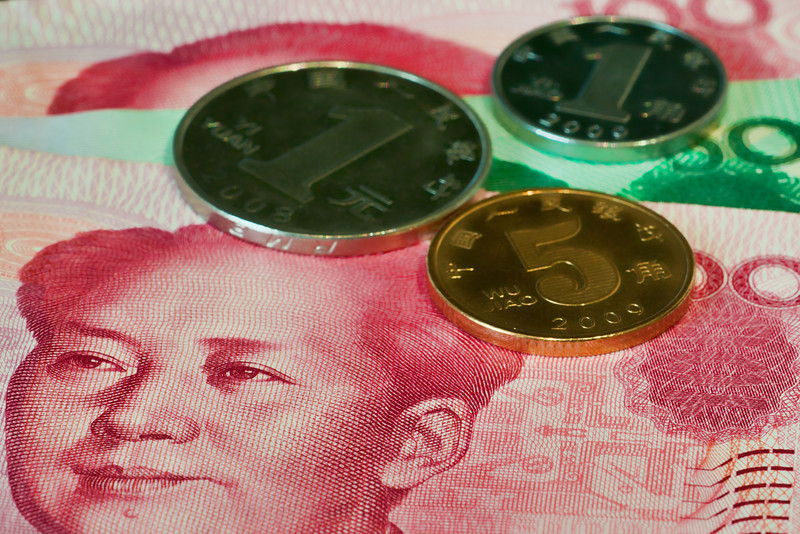 China' currency, the Renminbi, or Yuan.