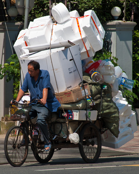 Everything is recycled in China!