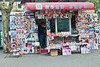 A typical magazine stall in Shanghai.  No shortage of reading material here.