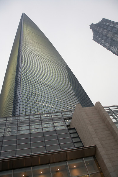 The Shanghai World Financial Center, the tallest building in mainland China.