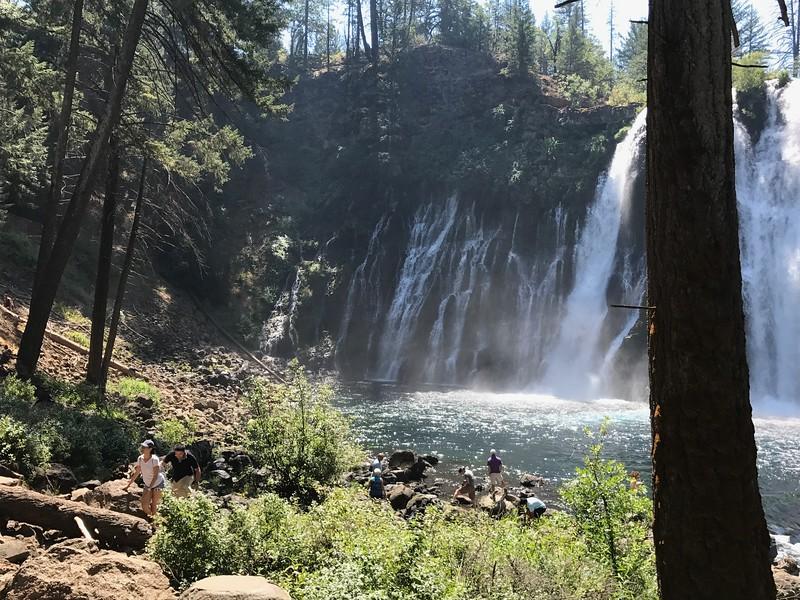 Burney Falls left side