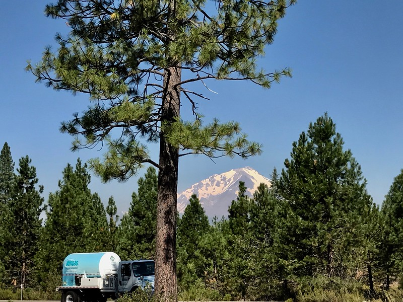 Last View of Mt Shasta