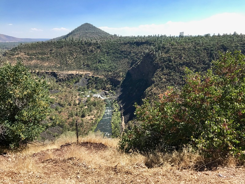 Cinder Cone above the Pit River
