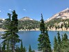 Eagle Peak and the shoulder of Mt Lassen from Lake Helen