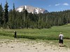 Mt Lassen over Upper Kings Creek Meadow