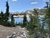 Mt Diller, Pilot Pinnacle, and Ski Heil Peak from Lake Helen