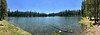 Summit Lake. Actually 1500 below the road summit but at the top of a divide between the Pit and Feather River drainages.