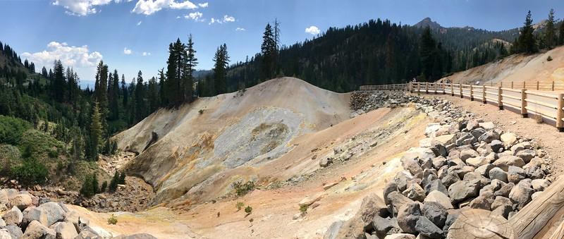 Sulphur Works under Brokeoff Mountain