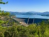 Shasta Dam, Lake, and Mountain