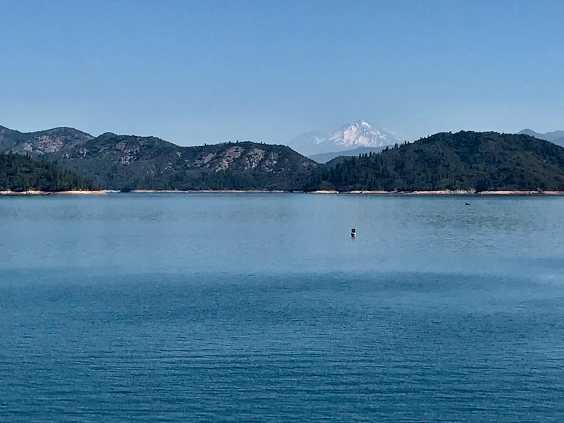 Mt Shasta and Shasta Lake
