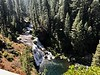 Middle McCloud Falls from the viewpoint