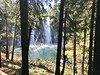 Burney Falls from the trail down to the pool
