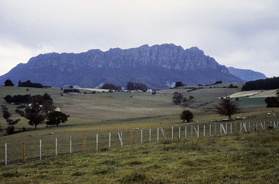 Northern Tasmania, south of Devonport and north of Sheffield.
