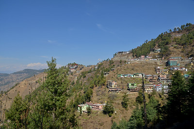 View from Chota, Shimla, Himachal Pradesh, India