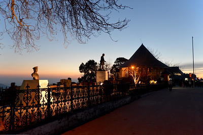 Lt Gen Daulat Singh Park, The Mall Road. Shimla is the capital city of the Indian state of Himachal Pradesh, located in northern India at an elevation of 7,200 ft. Due to its weather and view it attracts many tourists. It is also the former capital of the British Raj.