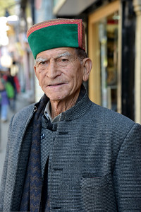 Portrait of a resident of Shimla. Shimla is the capital city of the Indian state of Himachal Pradesh, located in northern India at an elevation of 7,200 ft. Due to its weather and view it attracts many tourists. It is also the former capital of the British Raj.