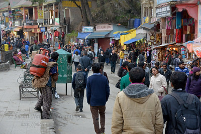 Mall Road, Shimla, Himachal Pradesh, India