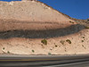 a Volcanic Vein on the hwy 378 pass to Pahrump