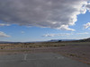 the airstrip at Shoshone, CA