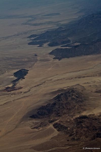 Desert scape near San Diego