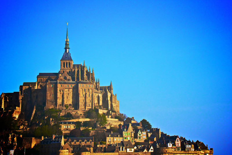 We got a chance to visit Mont St Michel Abbey in North West France.  It really is an amazing site and could be viewed from miles away.