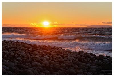 Sunset at Osei