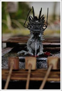 The water dragon at Suzenji