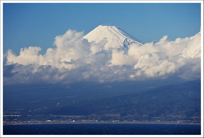 Mt. Fuji from Heda