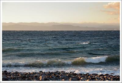 The beach at Osei