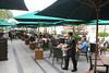 The Verandah is the popular breakfast venue.