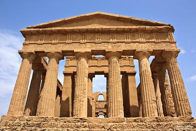 Tempio de la Concordia, Valle dei templi, Agrigento