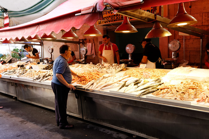 Syracuse - La Pescheria (Fish Market).