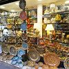 Taorminia - displays in the window of a Ceramics shop.