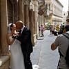 Ortigia - one of the many weddings I saw during my stay there.
