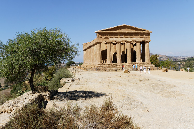 Agrigento - Valley of the Temples, Temple of Concordia
