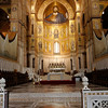 Monreale - this is the interior of the impressive Church.