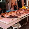 Palermo - a street market selling fish and other seafood.